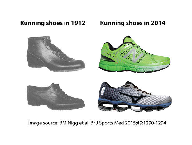 running shoes comparison