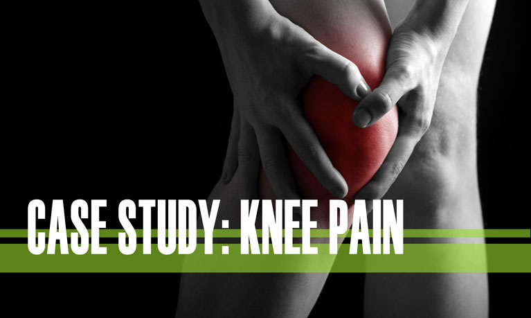 case study knee pain chiropractor in holland