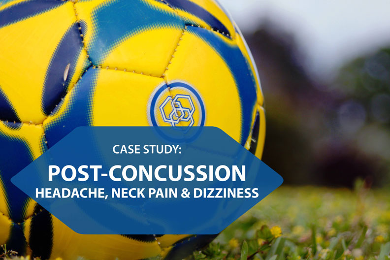 concussion case study chiropractor in holland